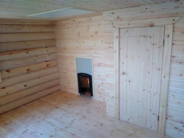 Paigaldusvalmis palkmaja või -saun 80 m2